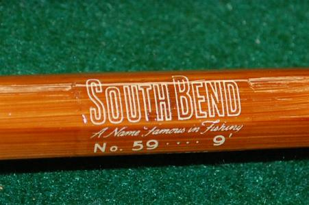 South Bend, #59-9 bamboo fly rod