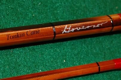 Horrocks-Ibbotson Governor split-bamboo fly rod