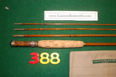 Heddon  #8 split-bamboo fly rod.