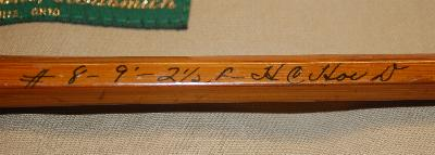 Heddon #8 bamboo fly rod